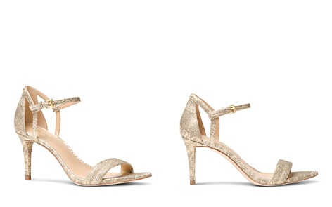 MICHAEL Michael Kors Simone Embossed Leather Mid Heel Sandals - Bloomingdale's_2